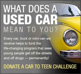 Teen Challenge Canada Vehicle Donation