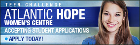 Teen Challenge Atlantic Hope Women's Centre – Apply Today!