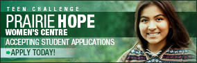 Teen Challenge Prairie Hope Women's Centre – Apply Today!